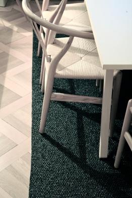 scandinavian plastic rug
